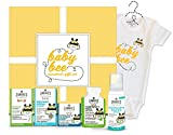 #3: Zarbee's Naturals Baby Bee Essentials Gift Set, with Saline Nasal Mist, Chest Rub, Vitamin D, Gripe Water, Cough Syrup + Mucus & Zarbee's Romper