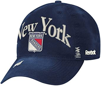 Embroidered Baseball Cap Sports NHL New York Rangers NEW 1 size fits all Reebok