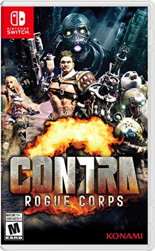 CONTRA Rogue Corps - Nintendo Switch (Video Game Contra)