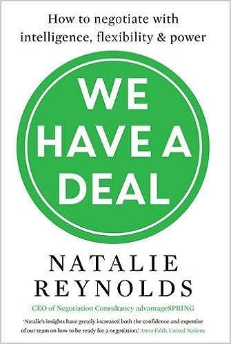 Natalie Reynolds - We Have a Deal Audiobook Free Online