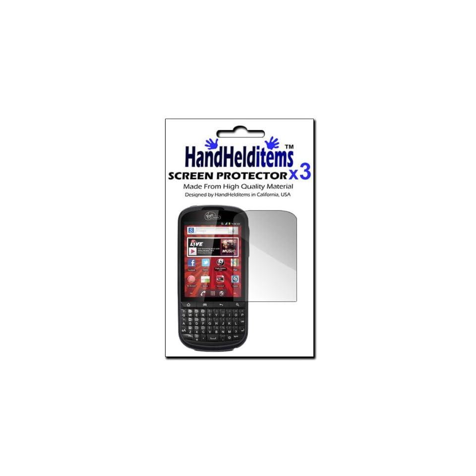 HHI Alcatel Venture Anti Fingerprint, Anti Glare, Matte Finished Screen Protector (3 Pack) (Package include a HandHelditems Sketch Stylus Pen)