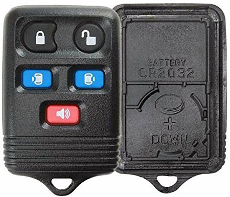KeylessOption Just the Case Keyless Entry Remote Key Fob Shell Replacement For CWTWB1U511, CWTWB1U551