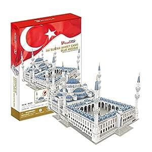 3D Puzzle Mezquita de Sultanahmet Estambul rompecabezas 3D
