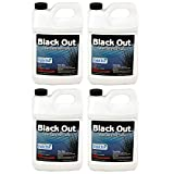 Sanco Crystal Blue Black Out Reflective Pond 1 Gallon Surface Colorants, 4-Pack