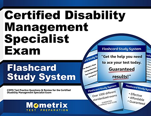 Certified Disability Management Specialist Exam Flashcard Study System: CDMS Test Practice Questions & Review for the Certified Disability Management Specialist Exam (Cards)