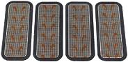 THE FLEX BELT Flex Mini Gel Pads for Bottom Muscle Toner (one Set)