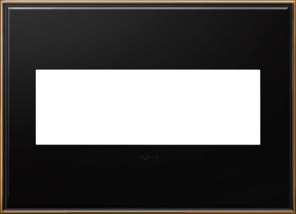 Adorne 3-Gang Oil-Rubbed Bronze Wall Plate by Legrand (Image #1)