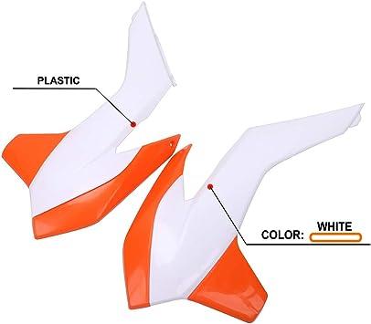 Motorcycle Body Plastics Radiator Shrouds ABS Plastic For KTM 125 150 200 250 300 350 450 SX SXF XC XCF XCW XCFW SX-F450 Factory Edition