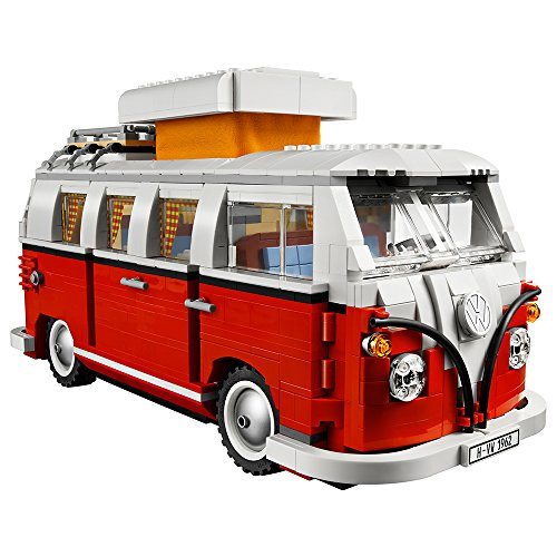 LEGO Creator Expert Volkswagen T1 Camper Van 10220 Construction Set (Bus Rear Engine)