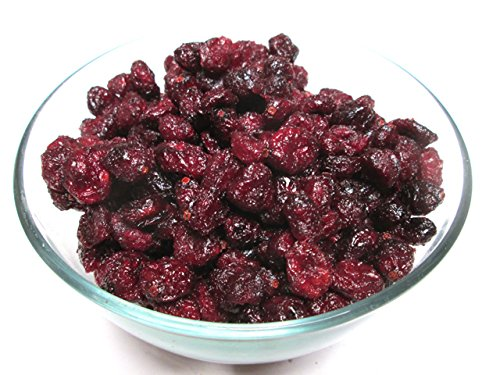 Dried Whole Cranberries-Apple Juice Infused, 5 pound bag. No Added Sugar ! US Product ! (No Sugar Added Fruit Juice compare prices)