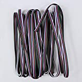 ESUMIC® 5Pin RGBW Extension Connector Cable for 5050 LED RGBW/WW Strip Ribbon (10M RGBW)