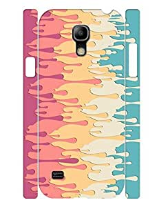 Fashion Theme Smart Phone Case With Melting Cream Image Slim Fit Case Cover for Samsung Galaxy S4 Mini I9195