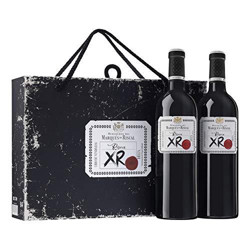 Vino Tinto Marqués de Riscal Reserva XR – D.O. Rioja – Estuche regalo 2 botellas x 75cl.