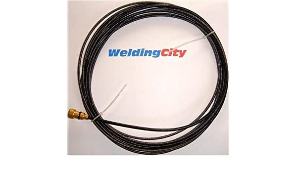 "035/""-045/"" Teflon Liner 194T-012 194012 15-ft for Miller Hobart MIG Welding Gun"