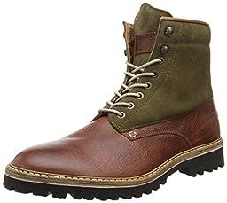 1883 by Wolverine Men\'s Tomas Plain Toe Hiker Winter Boot, Brown, 7.5 M US