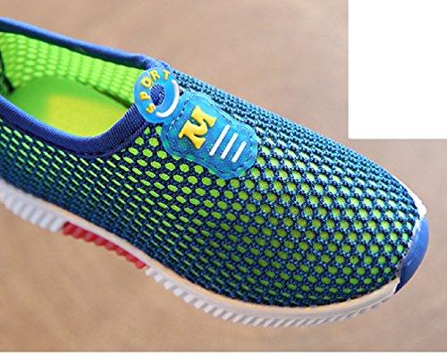 No brand Unisex - niños zapatos de gimnasia turquesa