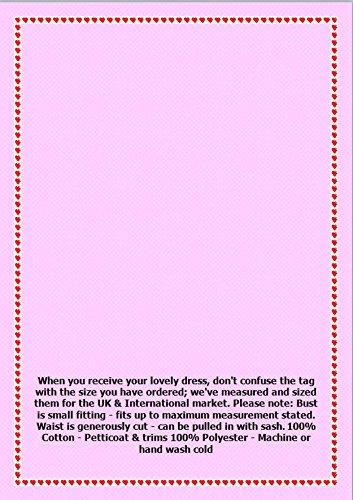 Leopard Noir Rouge Robe Cravate Bretelles Ceinture Des Années 50 Jupon 32-40