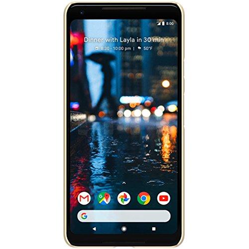 Grandcaser Funda para Google Pixel 2 XL,[Tough Armor] Ultra-Delgado Ligera Slim PC Duro Cover mate Estuche Protectora - Rojo Oro