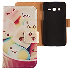 Lankashi Leather Cover Skin Protection Case for Samsung Galaxy Express 2 Ii G3815 Lovely Design