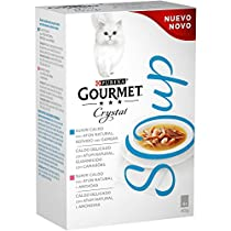 Descubre Purina Gourmet Crystal Soup para tu gato