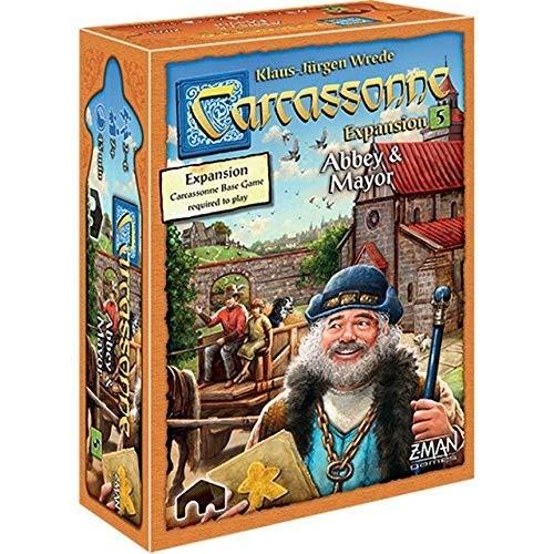 Carcassonne Expansion 5: Abbey & Mayor ()