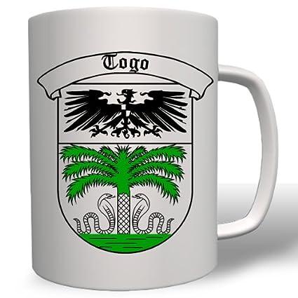 Taza Togo alemana Colonia alemán Imperio Alemán #2954