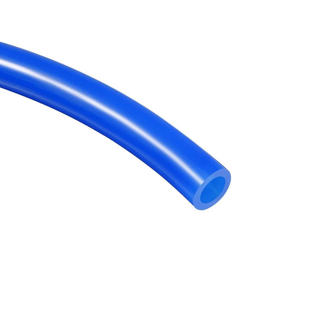 sourcing map 8mmx5mm Tuyau Flexible PU air pneumatique 10 m/ètre tube clair 32,8 ft