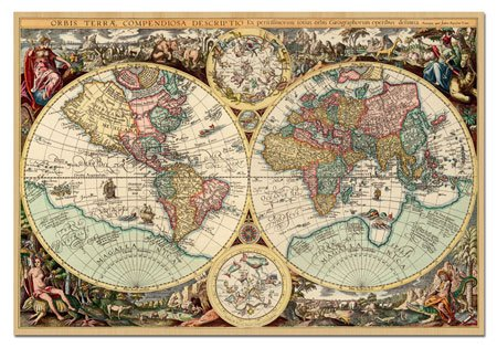 Educa ancient world map 1000 pc puzzle by amazon toys games gumiabroncs Image collections