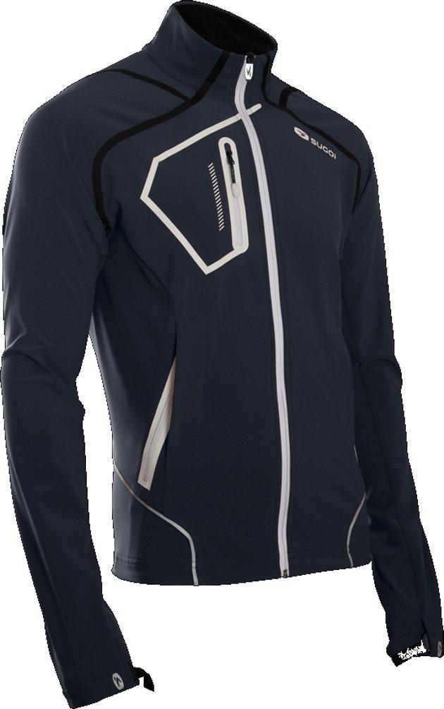 SUGOi Men's RSR Power Shield Jacket, Gunmetal, Medium