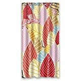 Modern Design Flower Shower Curtains, Size Width X Height / 36 X 72 Inches / W H 90 By 180 Cm, Polyester, Durable, Best And Suitable For Bath
