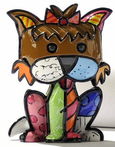 - Romero Britto Mini Terrier Dog Precious by Giftcraft