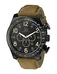 Joshua & Sons Men's JS-14-TN Analog Display Japanese Quartz Brown Watch