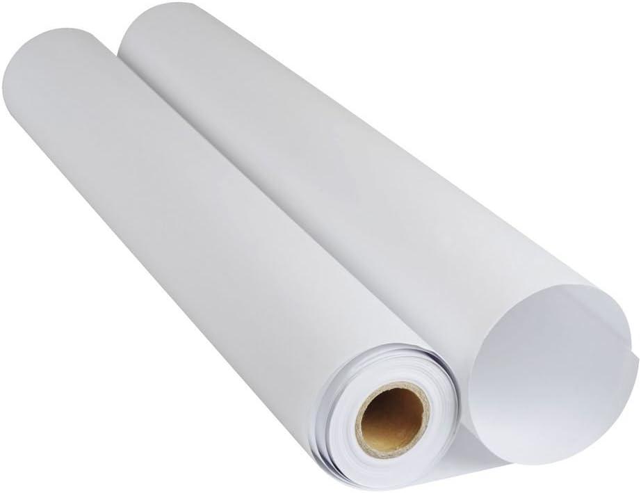 Rollo de papel estucado marca Adigraf para plóter, 140 g, 1067 mm x 30 m, mate, 1 unidad para ploter HP,Epson y canon: Amazon.es: Oficina y papelería