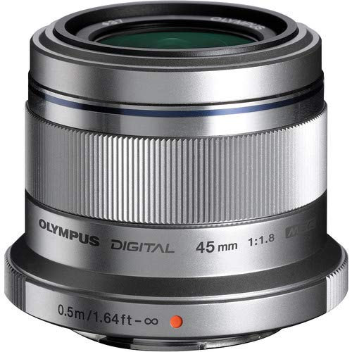 Olympus M. Zuiko Digital ED 45mm f1.8  Lens for Micro 4/3 Ca