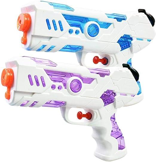 Volwco Pistolas De Agua para Niños Juguete 2 Pack 250CC Pistolas ...