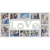 Collage Picture Frame Plastic Love Wall Hanging Photo...
