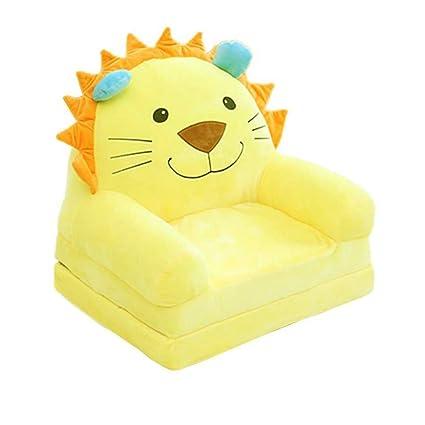 fivtyily cute cartoon shape kids sofa chair soft plush toddler rh amazon ca