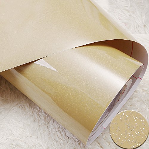 Review yazi Champagne Self Adhesive PVC Shelf Liner Kitchen Contact Paper By yazi by yazi