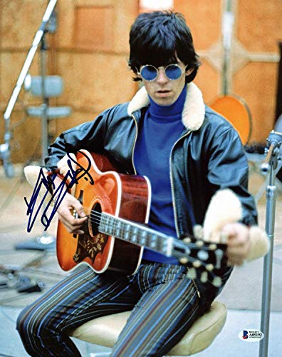 Keith Richards The Rolling Stones Authentic Autographed Signed 11x14 Photo - Beckett Authentic