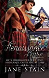 All three books available for $3.99 as a box set: Kilts at the Renaissance Faire.       Click on Jane Stain to find it.  At a Renaissance faire, Emily thinks gorgeous swordsman Dall plays his role a little too well - and when she gets ...