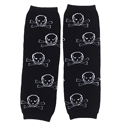 Huggalugs Baby Boys lil' Pirate Skull Legwarmers Infant