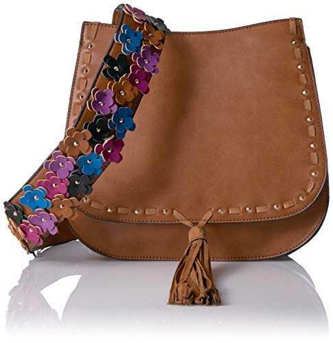 Boho-Chic Vacation & Fall Looks - Standard & Plus Size Styless - Steve Madden Bselena, Cognac