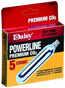 Daisy Outdoor Products 5 ct. CO2 (Silver, 12 gm)