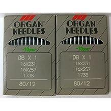 Bernina 950D/Bx1- Sewing Needles Size 80/12, 90/14, 100/16 (1 Order of Each Size -2 Pkgs = 20 Needles)See Description (80/12)