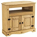Corona Solid Pine Corner TV Unit