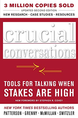 Pdf Self-Help Crucial Conversations Tools for Talking When Stakes Are High, Second Edition