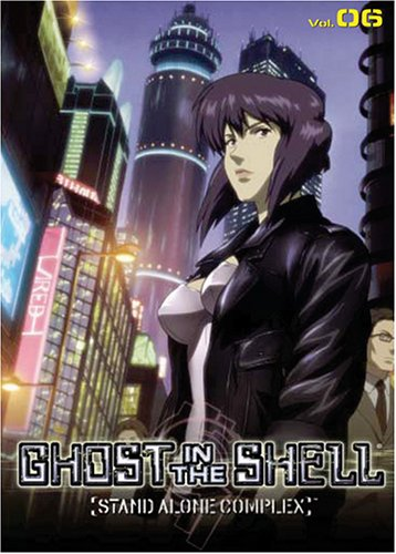 Amazon Com Ghost In The Shell Stand Alone Complex Volume 6 Episodes 21 23 Shiro Saito Peggy O Neal Dino Andrade Kevin Brief Loy Edge Barbara Goodson Kate Higgins Patricia Ja Lee Michael Mcconnohie Liam
