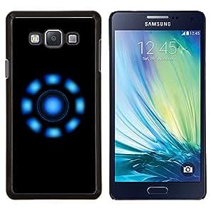 EJOOY---Cubierta de la caja de protección para la piel dura ** Samsung Galaxy A7 A7000 ** --Luces azules