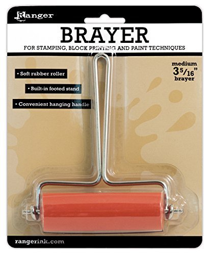 Ranger Inky Roller Brayer, Medium 3-5/16-Inch by Ranger by Ranger