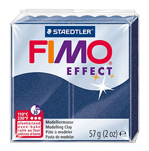 Staedtler Fimo Effect 8020-38 Oven Hardening Modelling Clay, 57 G - Metallic ()